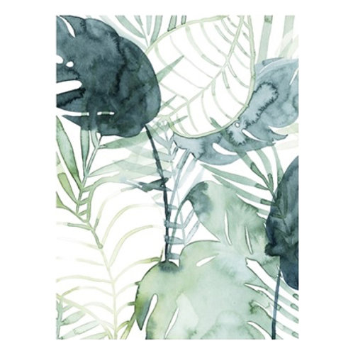 Palm Pieces II - Canvas Art