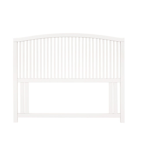 Ashby White Slatted Headboard Small Double 122cm
