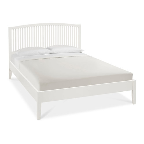 Ashby White Slatted Bedstead - Small Double 122 cm