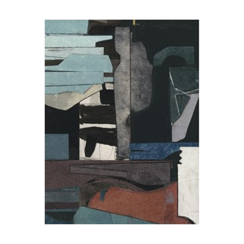 Mid-Century Collage III - Canvas Art