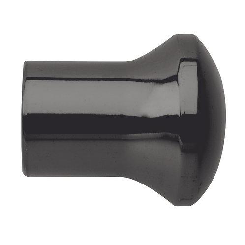 Neo Original 28 mm Trumpet Finial - Black Nickel