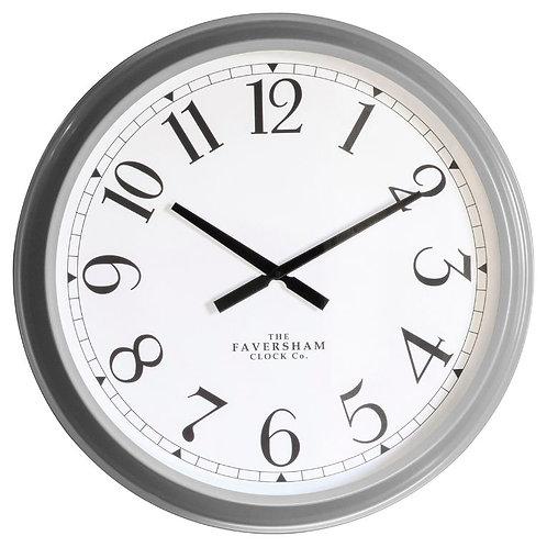 Golden City Clock - Fossil Grey
