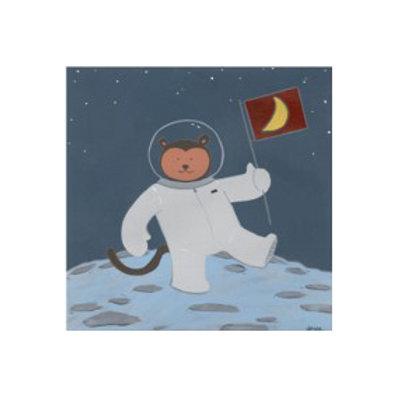 Monkeys in Space III - Canvas Art