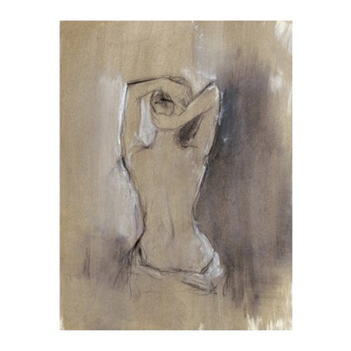 Contemporary Draped Figure I - Canvas Art