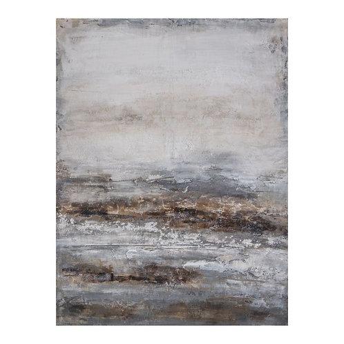 Ocean Nightfall - Canvas Art in Frame