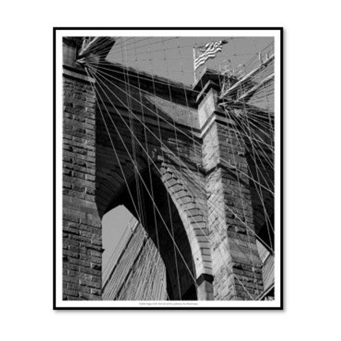 Bridges of NYC III - Framed & Mounted