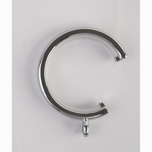 28 mm Neo C Shaped Passover Ring - Pack of 6 - Chrome