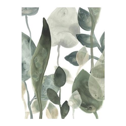 Water Leaves III- Canvas Art