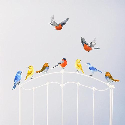 Birds in Flight - Kids Wall Stickers