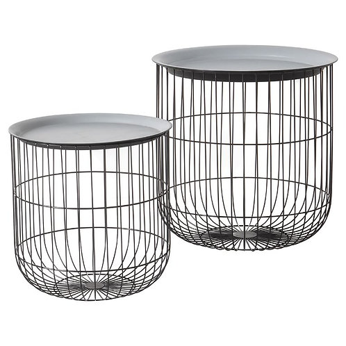 Barrel Tables (Nest of 2)