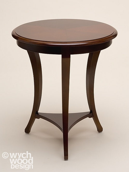 Round 3 Legged Wooden Side Table