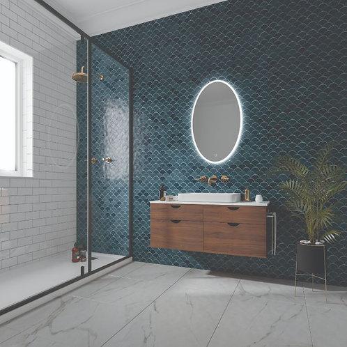 Arena Oval Bathroom Mirror