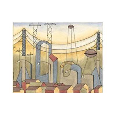 Urban & Suburban No.1 - Canvas Art