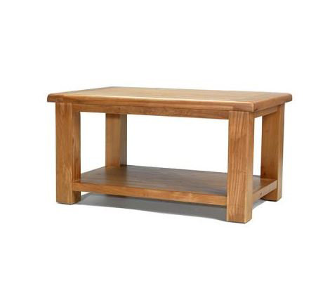 Earlswood Oak - Coffee Table with Shelf