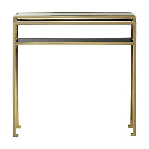 Calabria Console Table in Gold