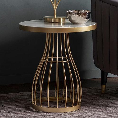Champagne Northside Side Table