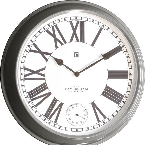 Conrad Clock - Light Grey