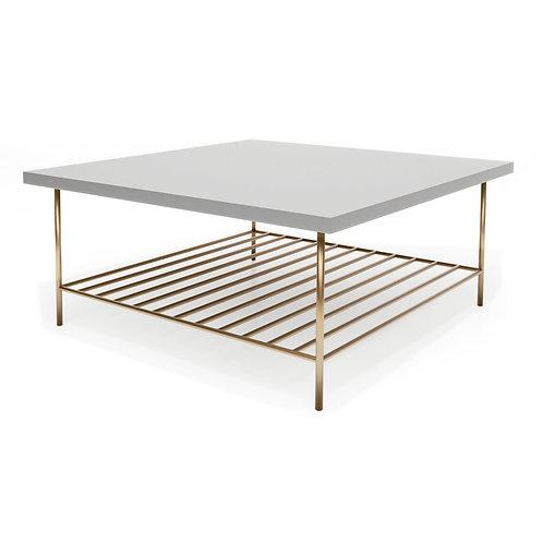 Alberto Square Coffee Table - Grey