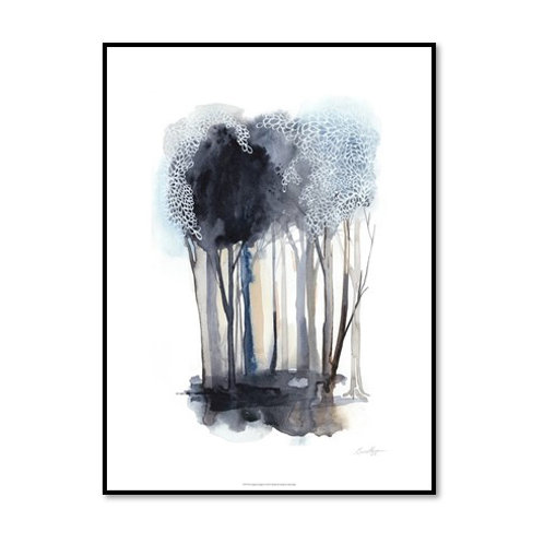 Tranquil Coppice II - Framed & Mounted