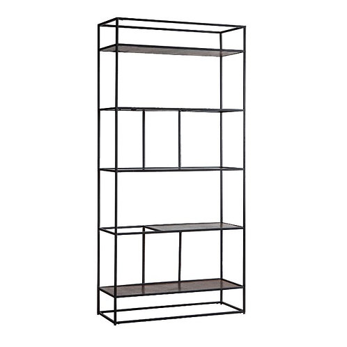 Berwick Display Unit - Antique Silver