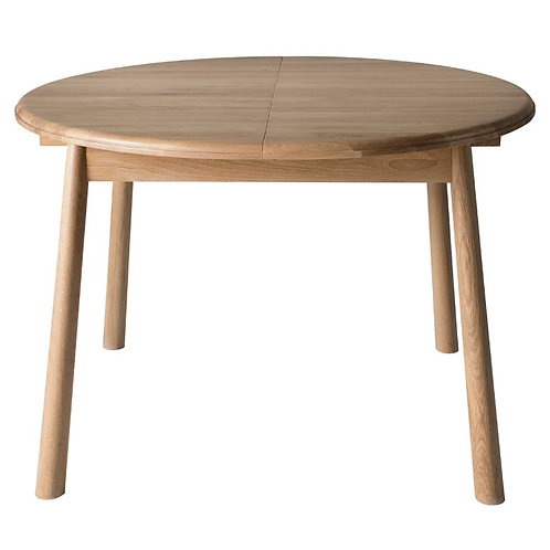 Wichama Round Extending Dining Table