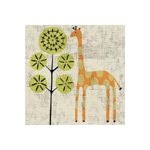 Ada's Giraffe- Canvas Art