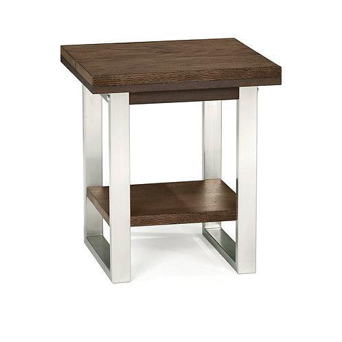Tivoli Dark Oak Lamp Table