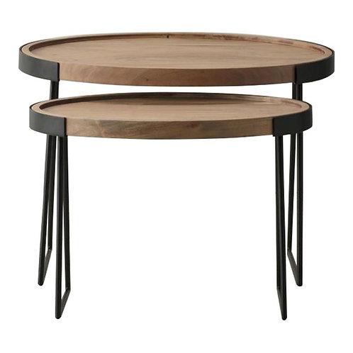 Hackney Nest of 2 Tables