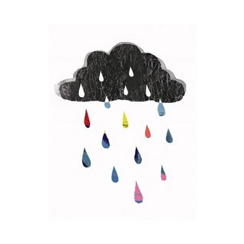 Rainy Day Rainbow I - Canvas Art