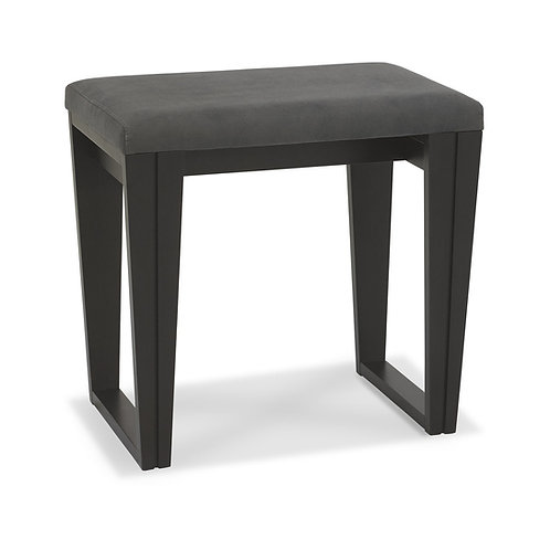 Tivoli Peppercorn Stool - Dark Grey Fabric