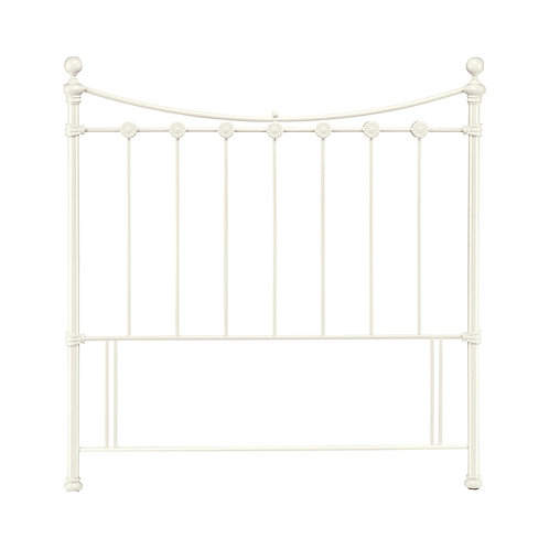 Alice Antique White Headboard - Double 135 cm