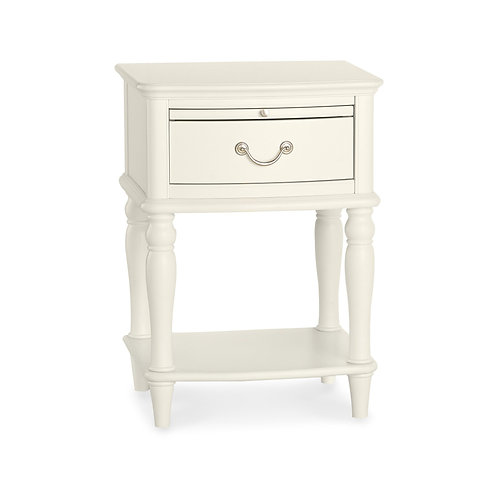 Bordeaux Ivory 1 Drawer Nightstand