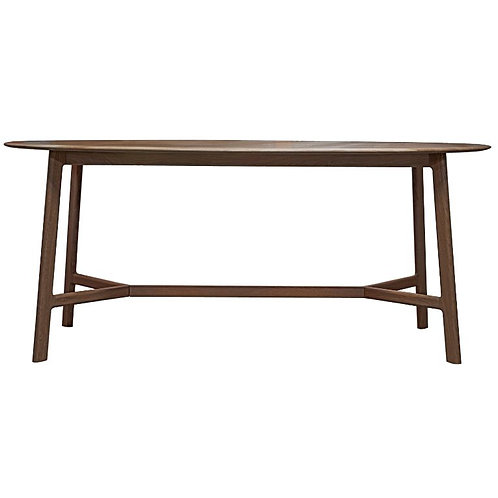 Atletico Oval Dining Table - Walnut