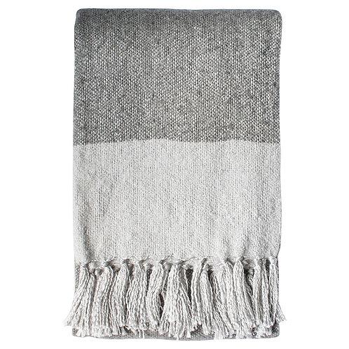Sahara Throw - Slate / Silver