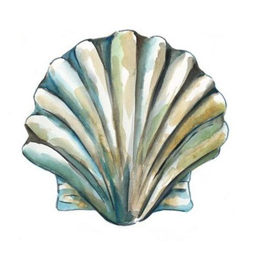 Aquarelle Shells VI - Canvas Art