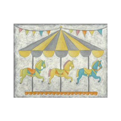 Carnival Carousel - Canvas Art