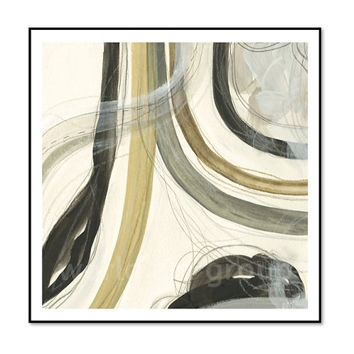 Neutral Lines II - Framed & Mounted