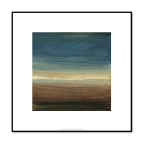 Abstract Horizon - Framed & Mounted