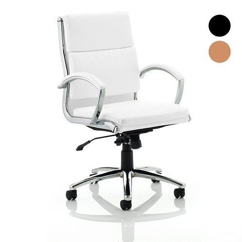 Classic Executive Chair With Arms Medium Back