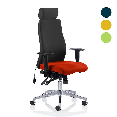 Onyx Bespoke Colour Seat With Headrest