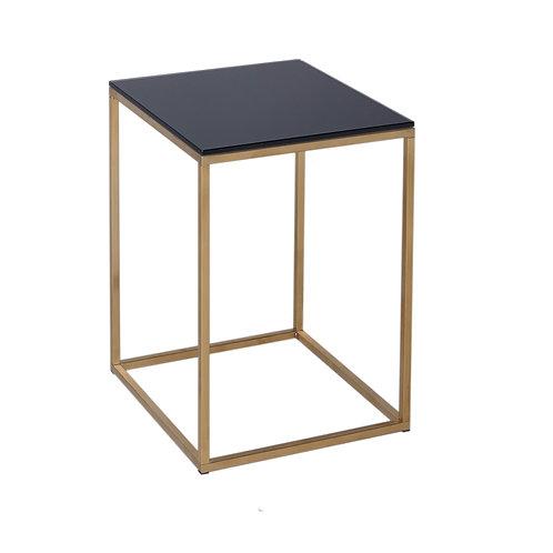 Kensal Square Side Table - Brass Frame