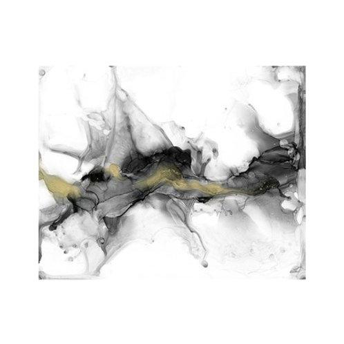 Golden Precipice I - Canvas Art