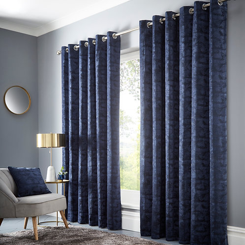 Topia Ink Eyelet Curtains