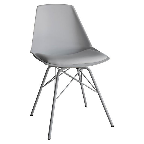 Barnet Grey Dining Chair - Pack of 4