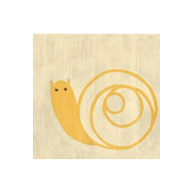 Best Friends- Snail - Canvas Art