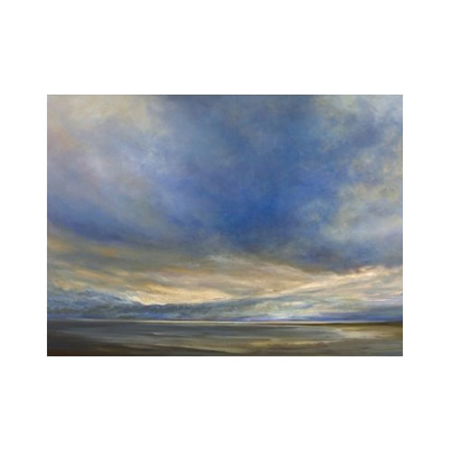 Clouds on the Bay II - Canvas Art