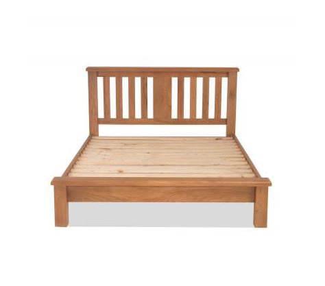 Burnham Oak - 3ft Single Low Foot Bed