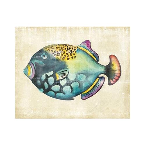 Aquarium Fish IV - Canvas Art