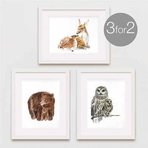 Mom & Baby Animal Prints - 3 for 2