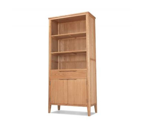 Osby Oak - Tall Bookcase